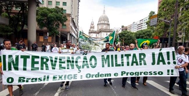 Resultado de imagem para intervenção militar
